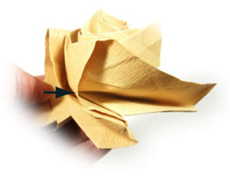 Origami Swirl - how to make a new swirl kawasaki origami flower page 39