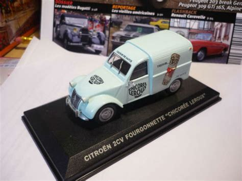 Altaya 143 Citroen 2cv Up Butagaz collection 2cv ixo presse miniature