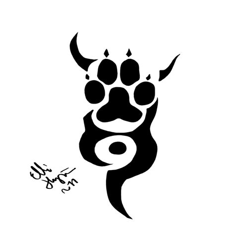 tribal claw tattoo images for gt tribal wolf claw ideas