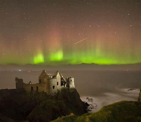 Outdoor Lighting Northern Ireland Northern Lights Dunluce Castle Co Antrim Ireland Nature Pinterest Ireland