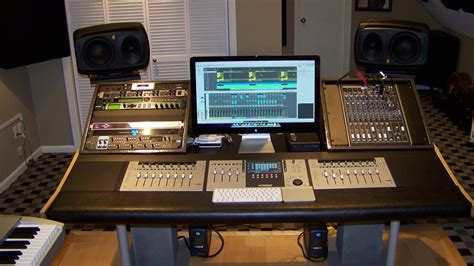 show me your or custom made console or studio