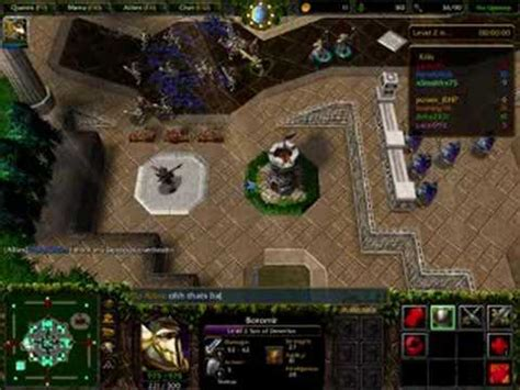 warcraft lord of the warcraft 3 reighn of chaos lord of the rings bfme 2 youtube