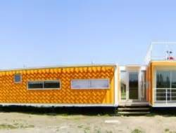 bright cargo container casa in chile liray container home the owner builder network