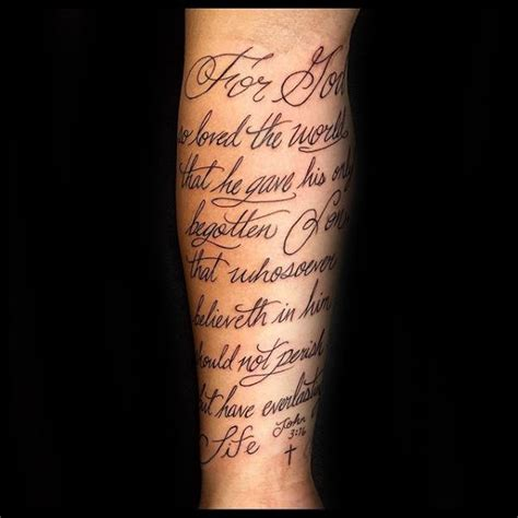 forearm script tattoos for men 30 3 16 designs for religious ink ideas