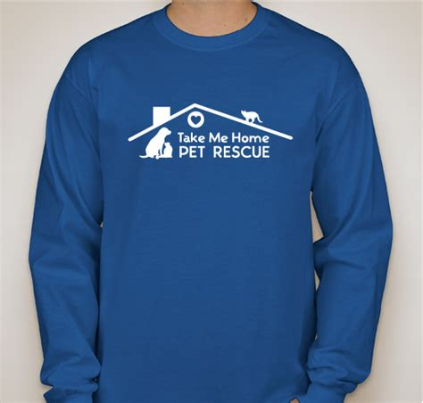 take me home pet rescue custom ink fundraising