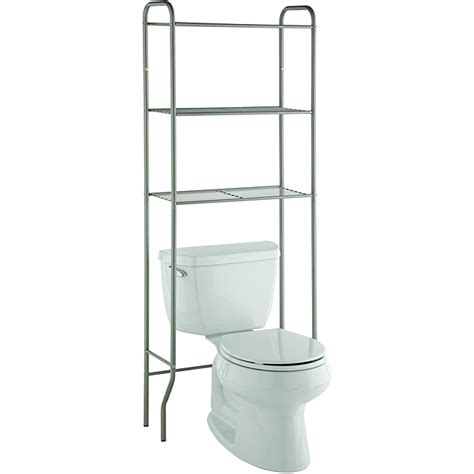 Space Saver Bathroom Shelves Taymor Modern Space Saver Three Shelf Bathroom Shelf Overstock Shopping The Best Prices On