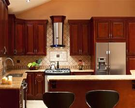 Kitchen Ideas Cherry Cabinets by Cherry Kitchen Cabinets For More Beautiful Workspace