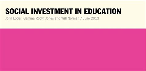 investment in learning the individual and social value of american higher education foundations of higher education books social investment in education the foundation