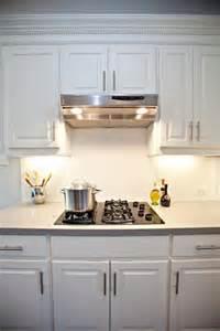 White Kitchen Subway Tile Backsplash Subway Tile Backsplash