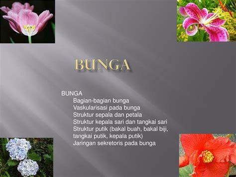 bunga powerpoint  id