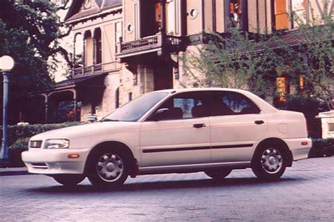 1997 suzuki esteem 1995 02 suzuki esteem consumer guide auto