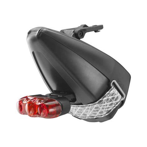 Saddle Bag 0 5l Ics System Black fizik ta ke ics saddle bag with rapid 3 rear light