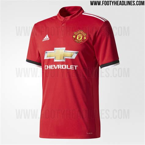Jersey Manchester United Home 2017 2018 Khusus L Dan Xl Grade Ori Offi manchester united 17 18 home kit released footy headlines