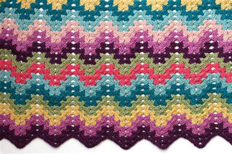 free pattern granny ripple afghan thumbnail