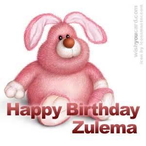 happy birthday zulema free e cards