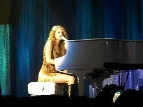 taylor swift december live taylor swift back to december live speak now tour from