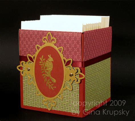decorative greeting card holder part 3 decorating the box