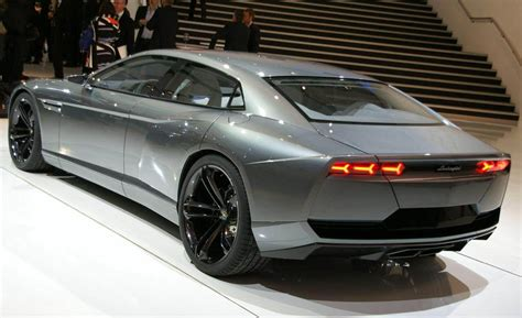 The First Lamborghini Sedan Ever The Lamborghini Estoque