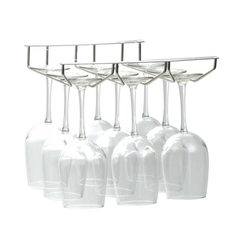 Hanging Wine Shelf by 17 Best Ideas About Hanging Wine Glass Rack On