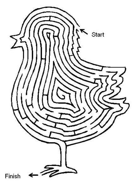 printable brain maze free coloring pages of brain coral