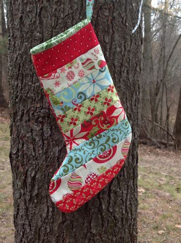 quilted stocking tutorial modern material girl tutorial quilted christmas stockings