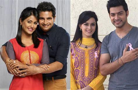 mere angne mein lead pair ekta kaul and karam rajpal at future story so far life ok s mere rang mein rangnewali