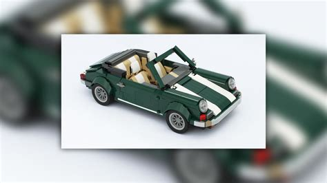 lego mini cooper porsche see how a mini cooper lego kit spawns a porsche 911 and