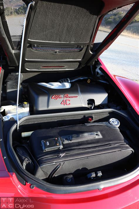 2016 Alfa Romeo 4C Engine-002 - The Truth About Cars