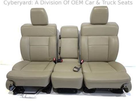 ford f150 replacement seats ford f 150 f150 oem used leather replacement seats 2004