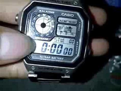 Jam Tangan Casio Batre 10 Tahun jam tangan casio ae 1200 wh original 10 year battery outboxing and fature