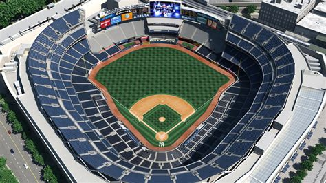 yankee stadium seating chart view section new york yankees virtual venue by iomedia