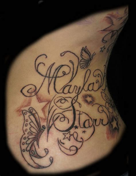 tattoo lettering ribs 30 eye catching exles of rib tattoo designs cssdive