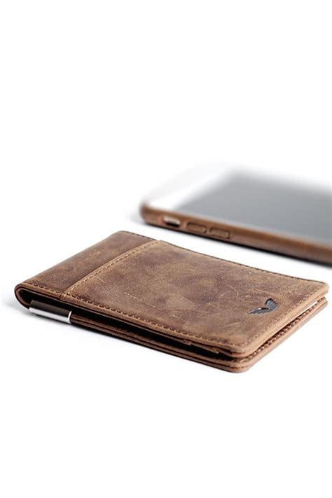Minimalis Brown minimalist wallet grains and wallets on