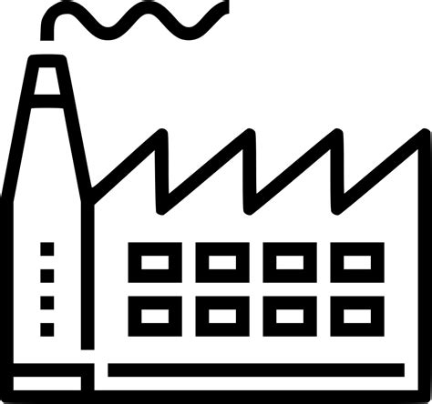 factory production svg png icon