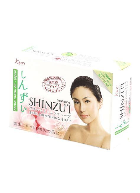 Shinzu I Skin Soap Kirei 3x90g shinzu i sabun mandi skin lightening kirei bar 87g