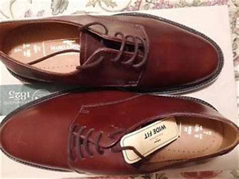 marks and spencer mens shoes in brown uk size 7 wide fit