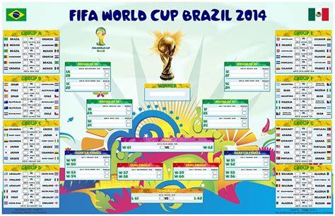Calendario Mundial 2014 Calendario Interactivo Mundial Brasil 2014 Almanaque