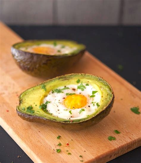 avocado egg boats the iron you eggs baked in avocado boats