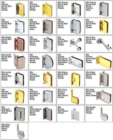 Glass Shower Door Hardware Parts Shower Hinges Centennial Glass