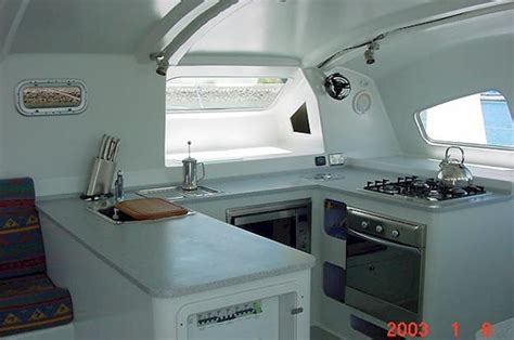 yacht galley layout boat galley