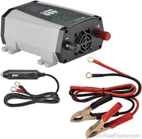 watt 12 volt dc to ac cobra compact power inverter