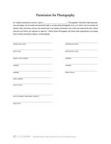 Photography Release Form Template by Free Model Release Form Template For Photography