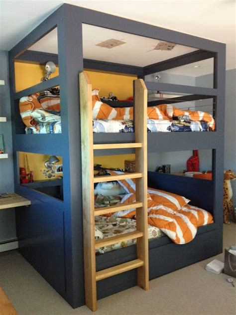 Boys Room Bunk Beds Mommo Design 8 Cool Bunk Beds