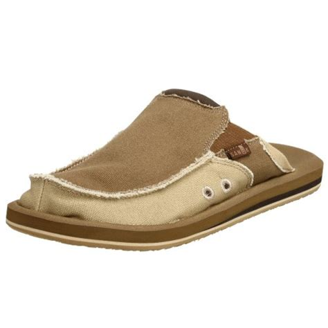 sanuk mens slippers sanuk you got my back men s slip on sandals sandals