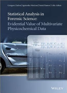 essentials of multivariate data analysis books statistical analysis in forensic science evidential