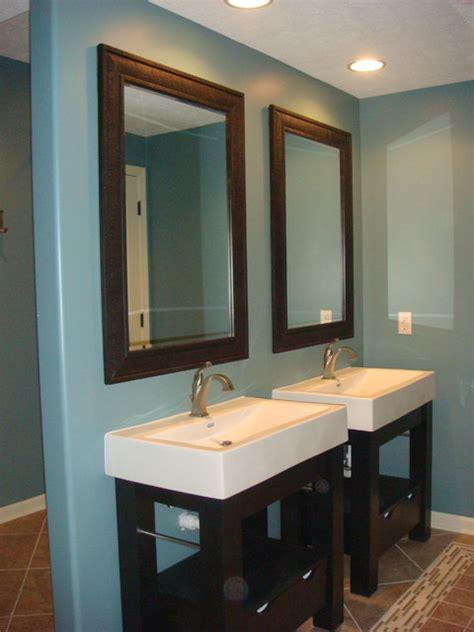 free standing bathroom sinks dual free standing sinks