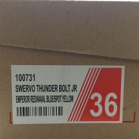 Sepatu Badminton 361 jual sepatu bola anak specs original swervo thunder bolt