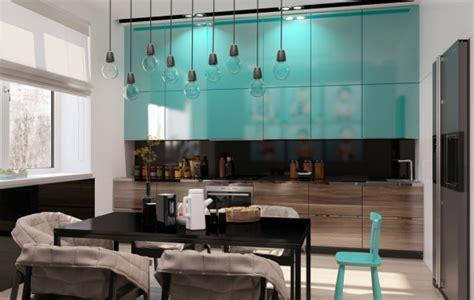 teal kitchen cabinets interior design ideas