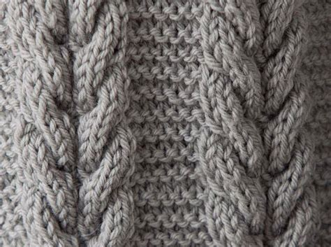 knit cable patterns knitting stitches library images