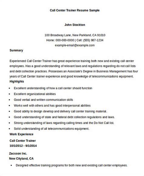 sle of resume for call center applicant in the philippines call center resume the key success for the applicants